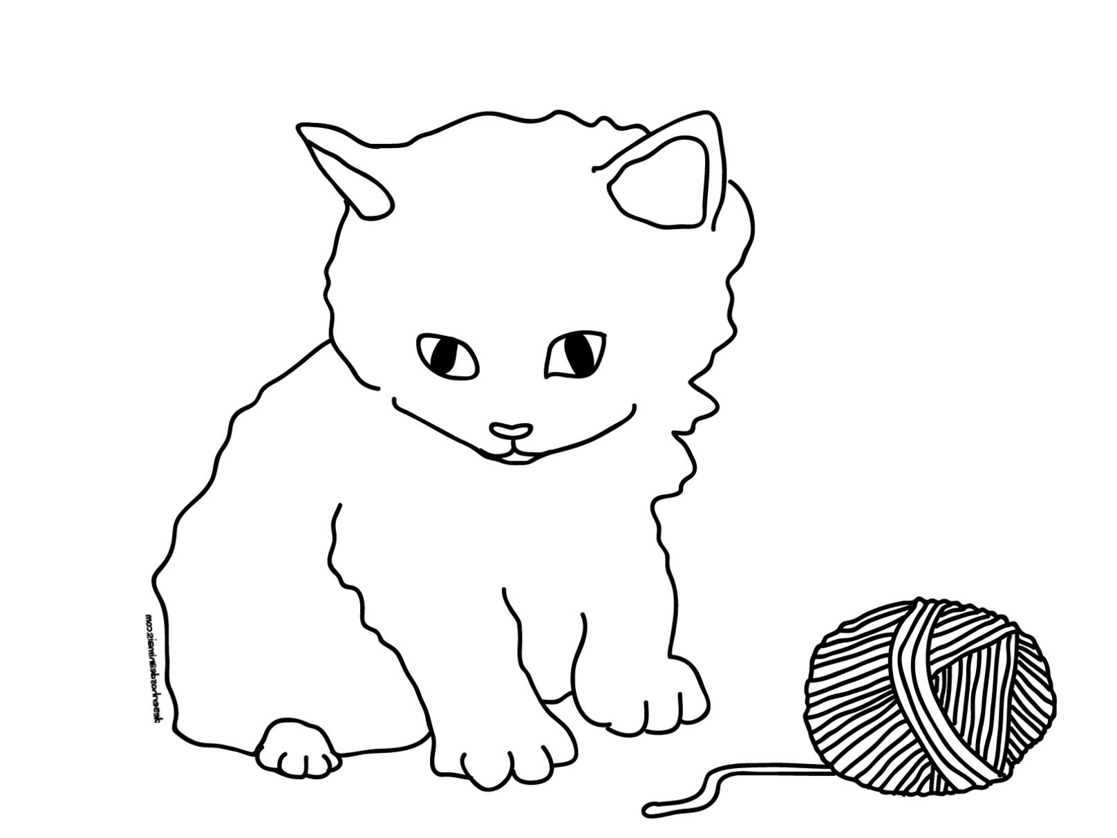 Ausmalbilder Kostenlos Zum Ausdrucken Katzen : Ausmalbilder Katzen Zum Ausdrucken 125 Malvorlage Katzen