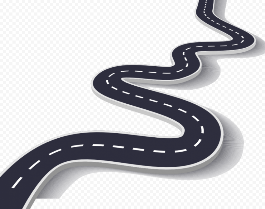 Road Cartoon Curved Line No Background Background Curved Lines Cartoons Png