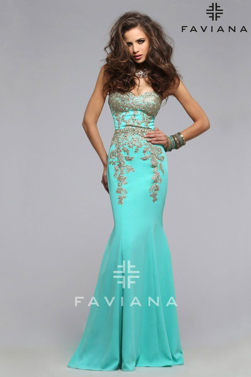 Faviana Glamour Dress S7796 | Terry Costa Dallas terrycosta.com ...