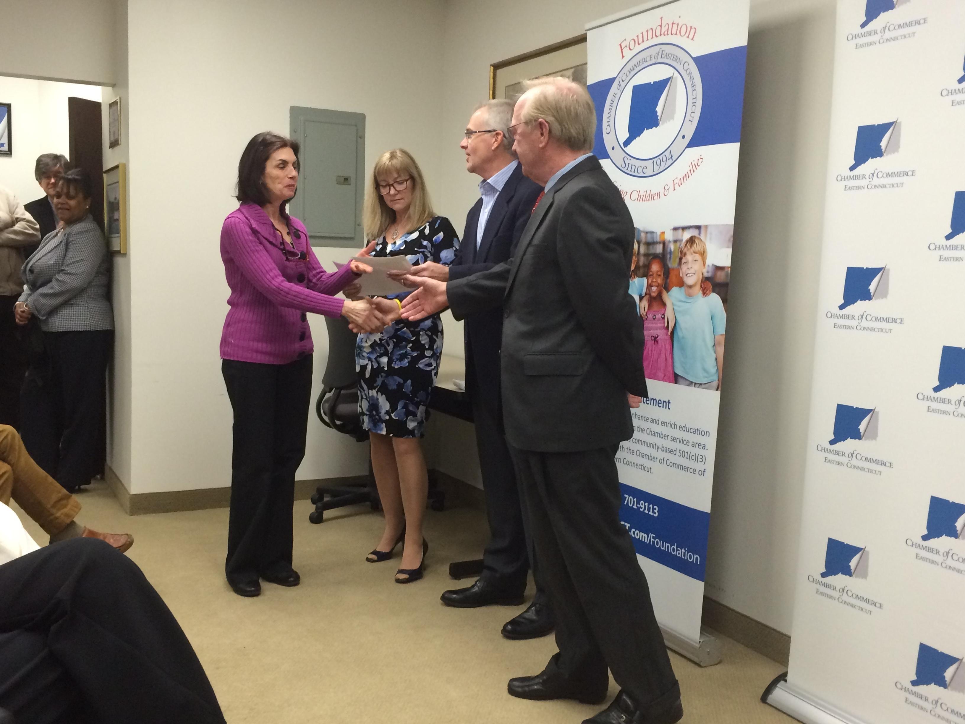 Chamber foundation awards 104000 to 35 nonprofits the