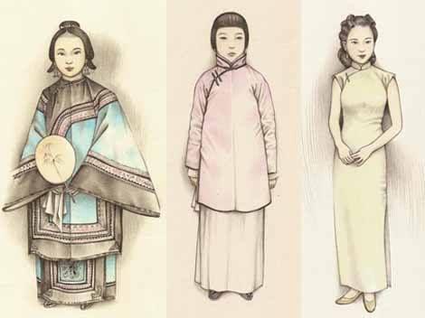 Evolution of Cheongsam / Qi Pao