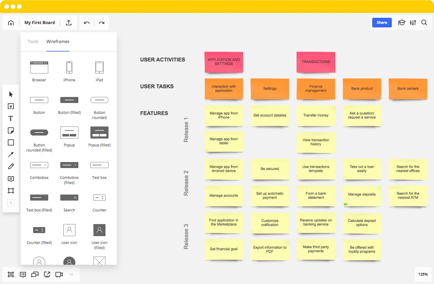 How Scrum Masters Use Miro For User Story Mapping