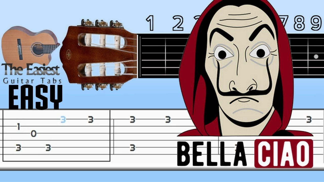The Easiest Guitar Tabs Unknown Bella Ciao Easy Guitar Tabs Easy Guitar Tabs Easy Guitar