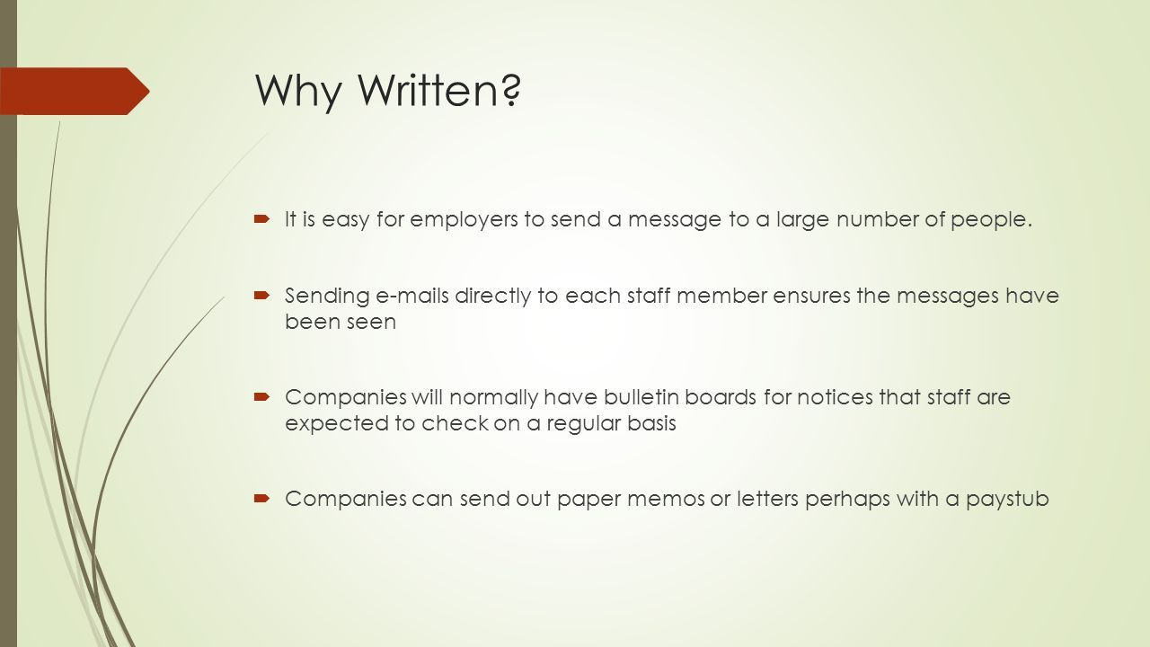 Image result for written communication in the workplace