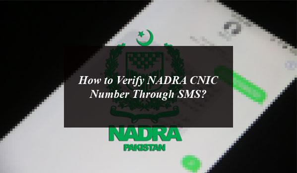 Nadra Citizen Reverification Service Let You Have Cnic