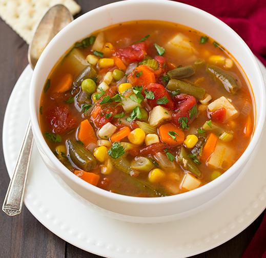 42 Vegetable Soups Better Than A Salad Vegetable Soup Recipes Vegan Vegetable Soup Clean Eating Recipes