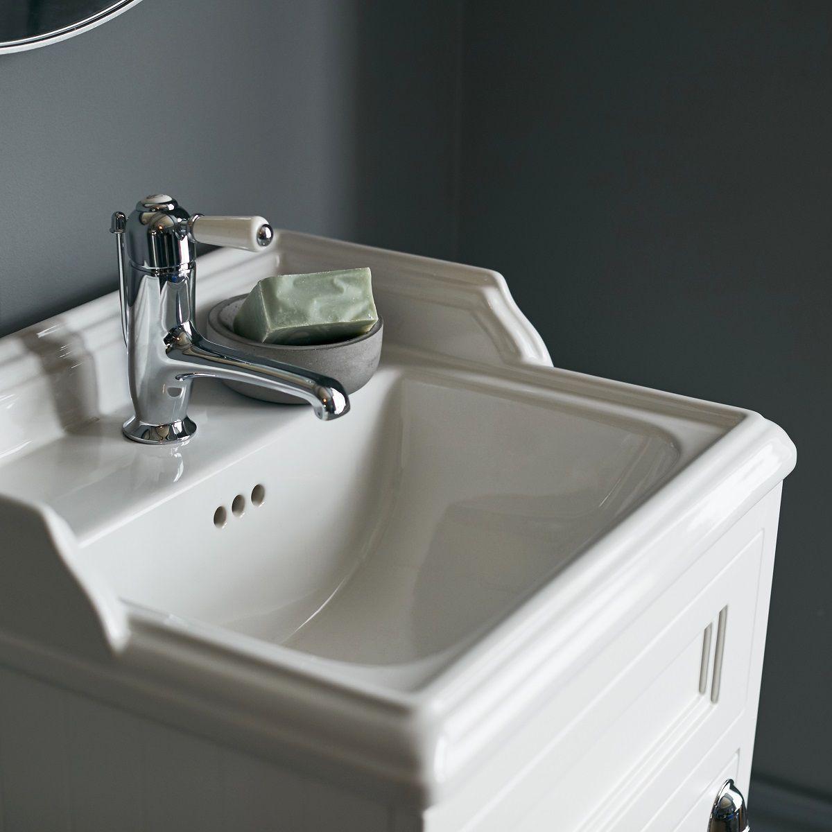 Burlington 50cm Floorstanding Vanity Unit - UK Bathrooms