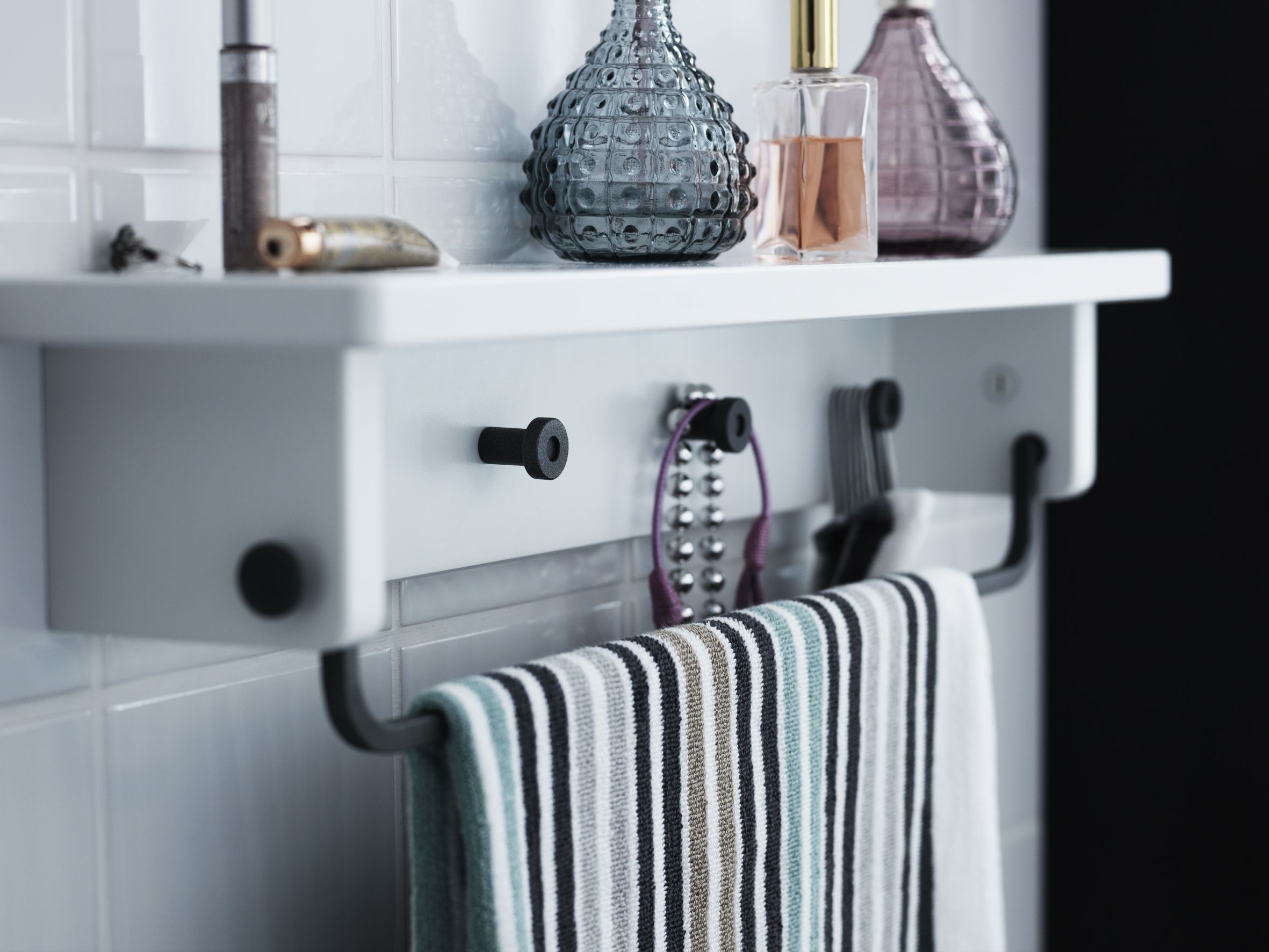 Hooks And Rails Are A Necessity In A Bathroom. Where To Hang Your Towel,  Clothes And Anything Else You Can?! The HJÄLMAREN Range Has Many Different  Kinds Of ...