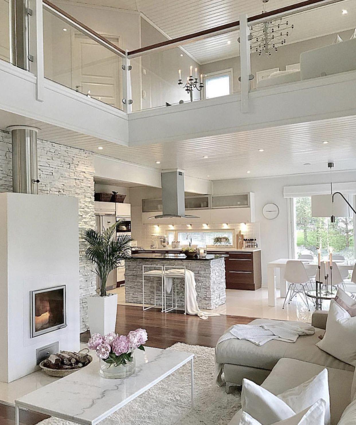 Visualizza altre idee su case da sogno, case, architettura. Pin By Sezo On Casas Dream House Interior Home Interior Design Modern House Design