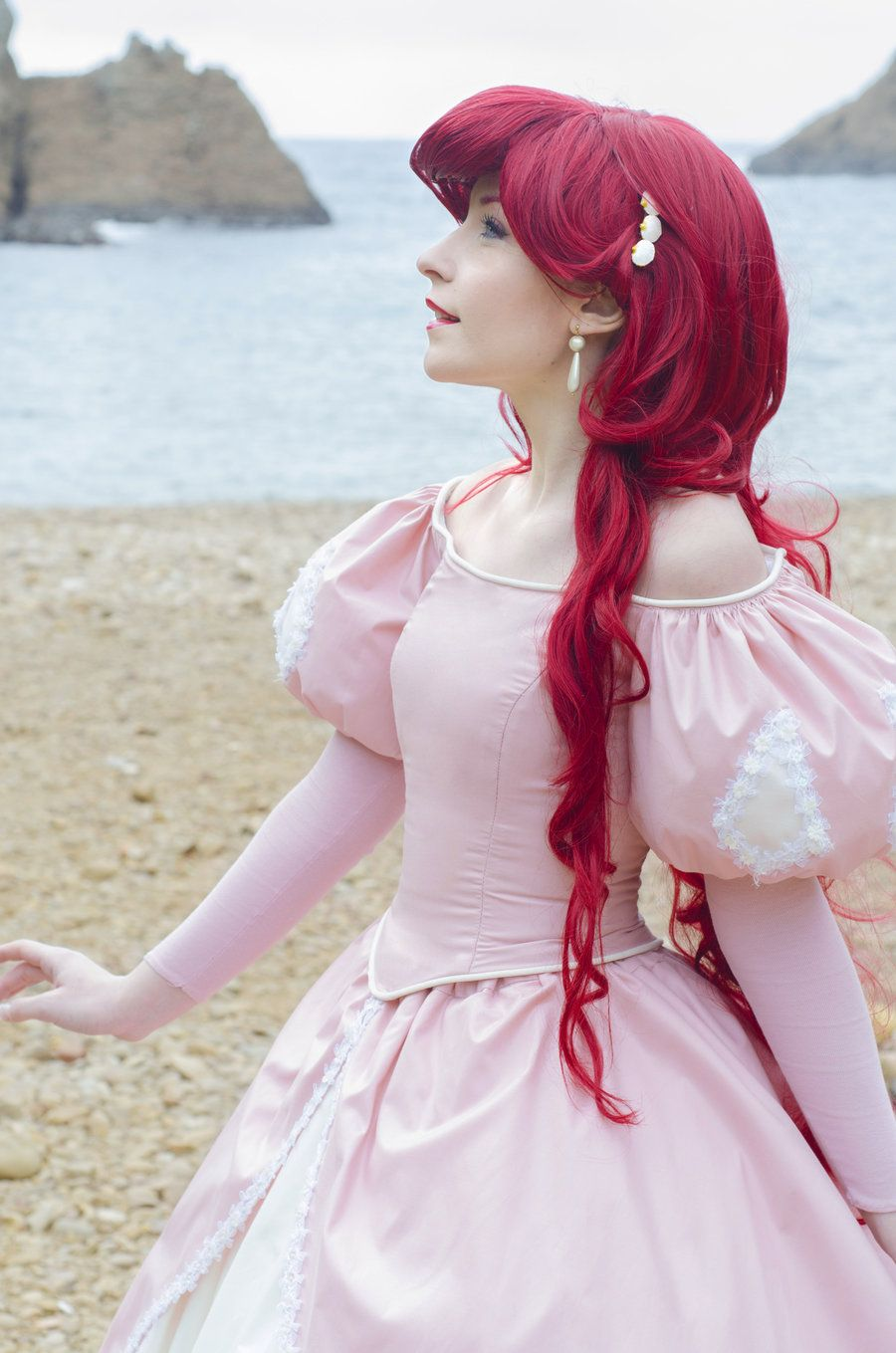 Could this be any more perfect?! A stunning Little Mermaid cosplay ...