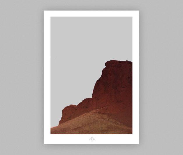 Digitaldruck - Art Print ~ Versteinerte Düne ~ A4 - ein Designerstück von Na-Lotta bei DaWanda