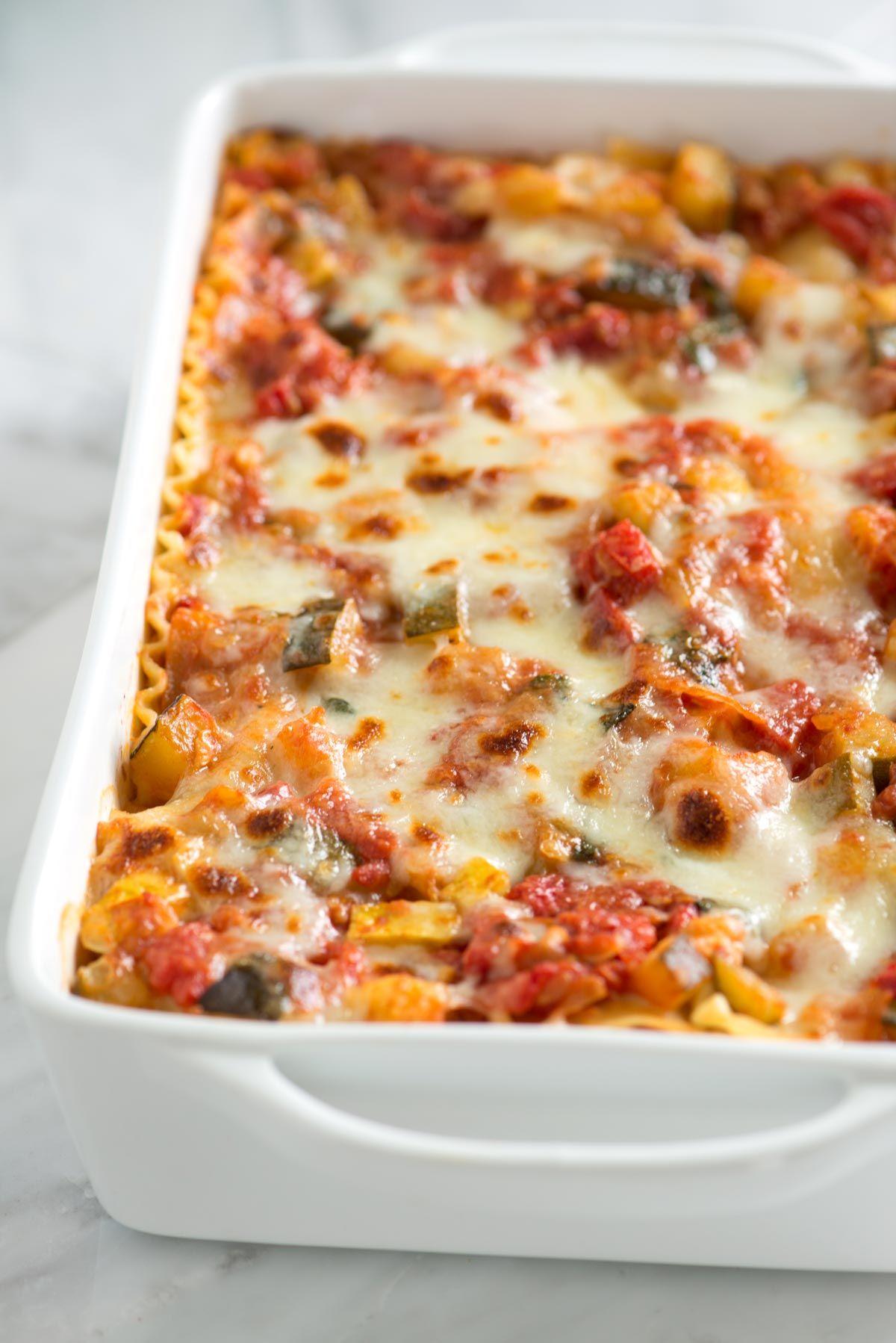 Easy Vegetable Lasagna Recipe Vegetable Lasagna Recipes Easy Vegetable Lasagna Recipes