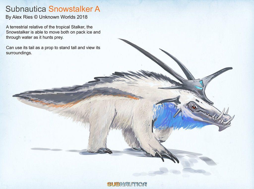A concept for the upcoming Subnautica DLC 'Below Zero': An