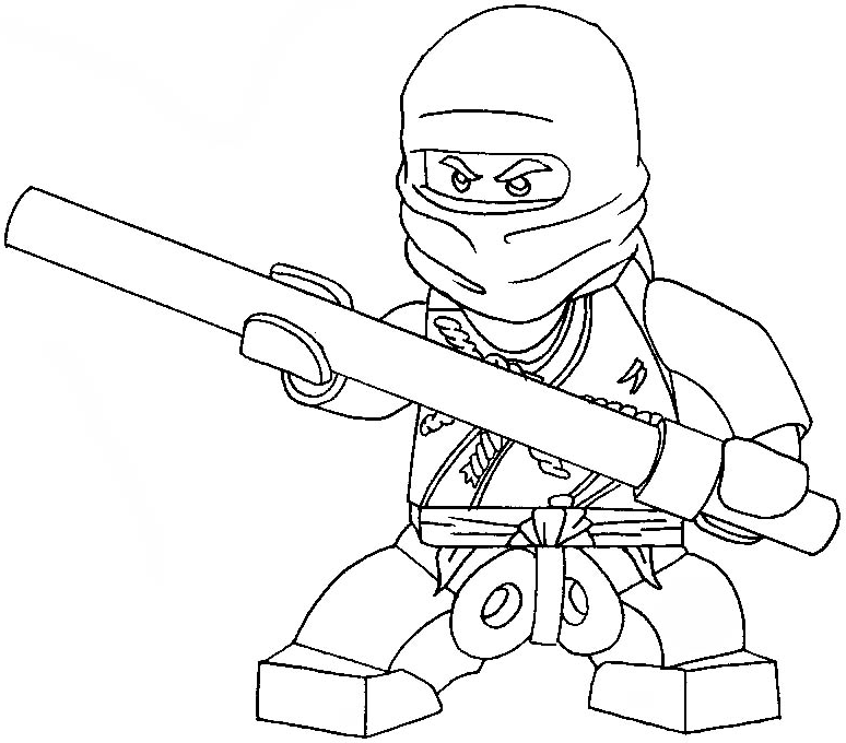 Coloring Book Ninjago : How to draw cole from lego ninjago with easy step by drawing