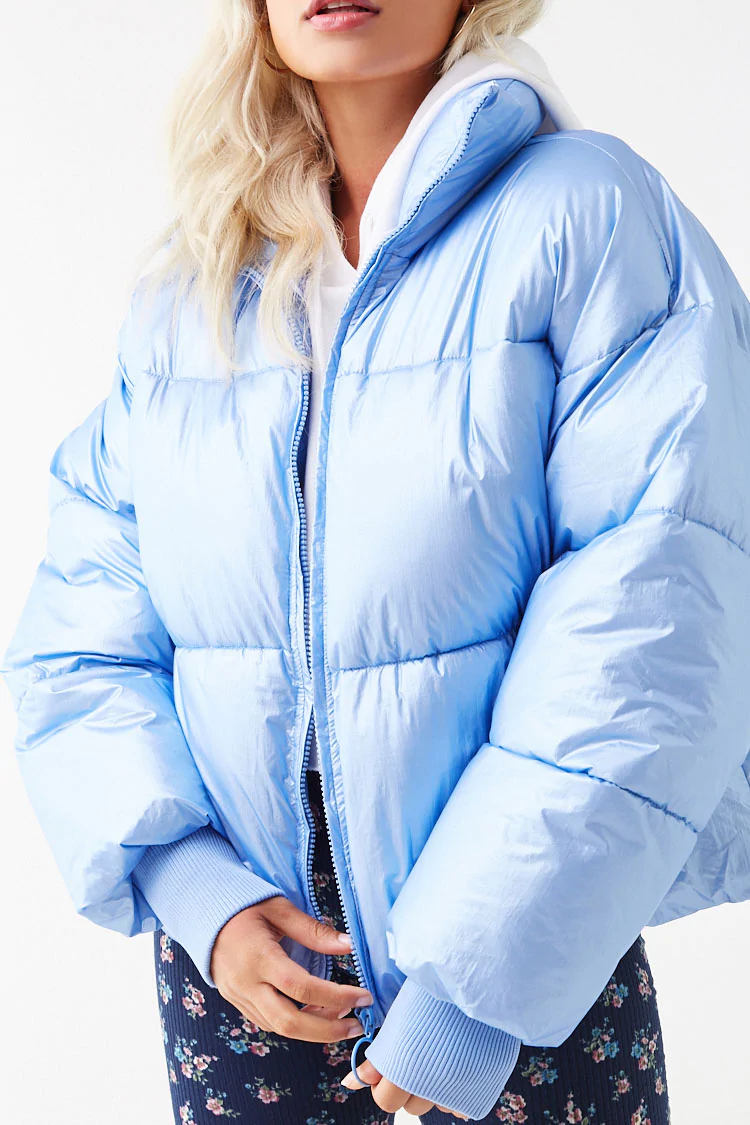 Faux Patent Leather Puffer Jacket Forever 21 Jackets Puffer Jackets Leather Puffer Jacket [ 1125 x 750 Pixel ]