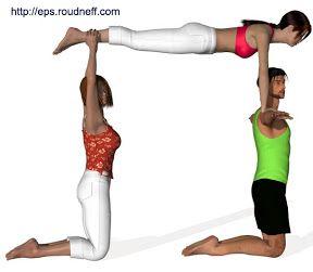 Rainbow Students Pe Activities Acro Yoga Poses 3 Person Yoga Poses Yoga Poses