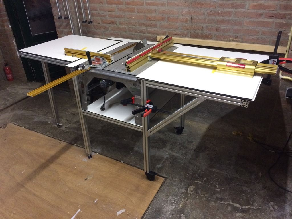 1 Diy Saw X2f Router Table With Cs70 Incra Miter And Incra Ls
