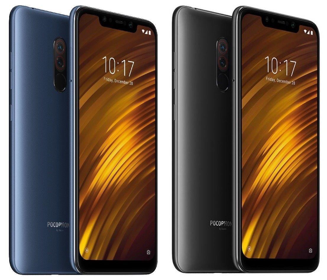 Xiaomi Pocophone F1 Dual Sim 64gb 4g Lte 6gb Ram Unlocked Smartphone Black Blue Narodnyj Tochki Video