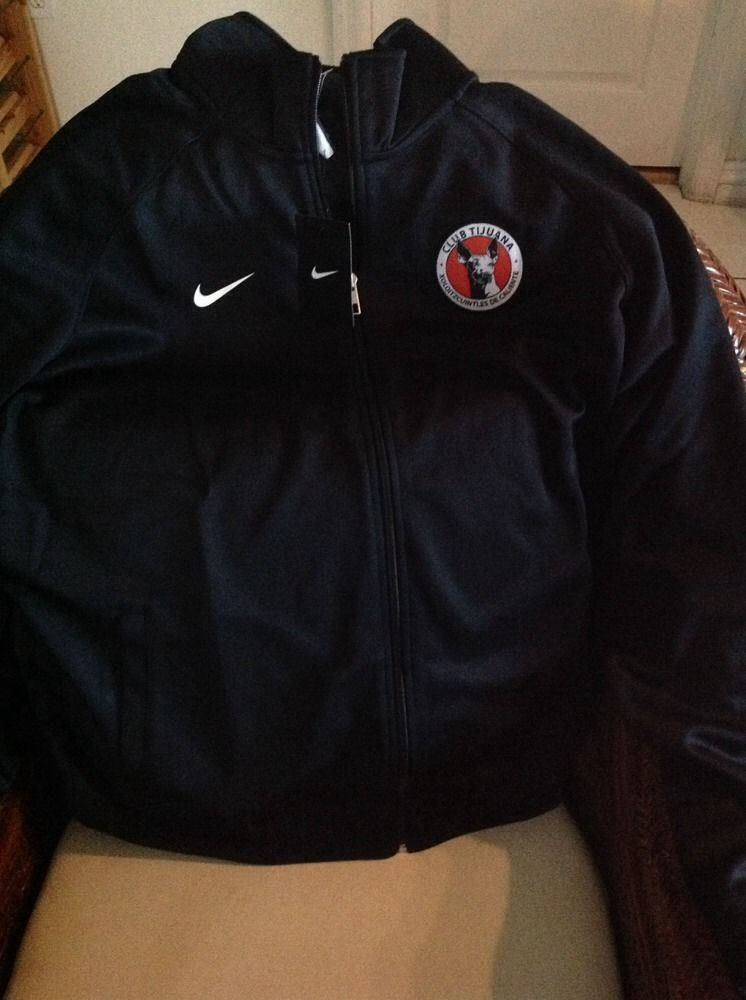 Nike club tijuana xolos mexico Black Jacket New With Tags size XL ...