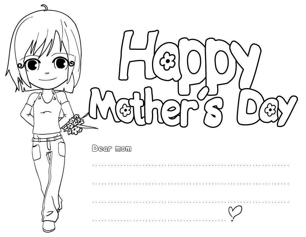 Amazing Happy Mothers Day Coloring Pages   Free Large Images