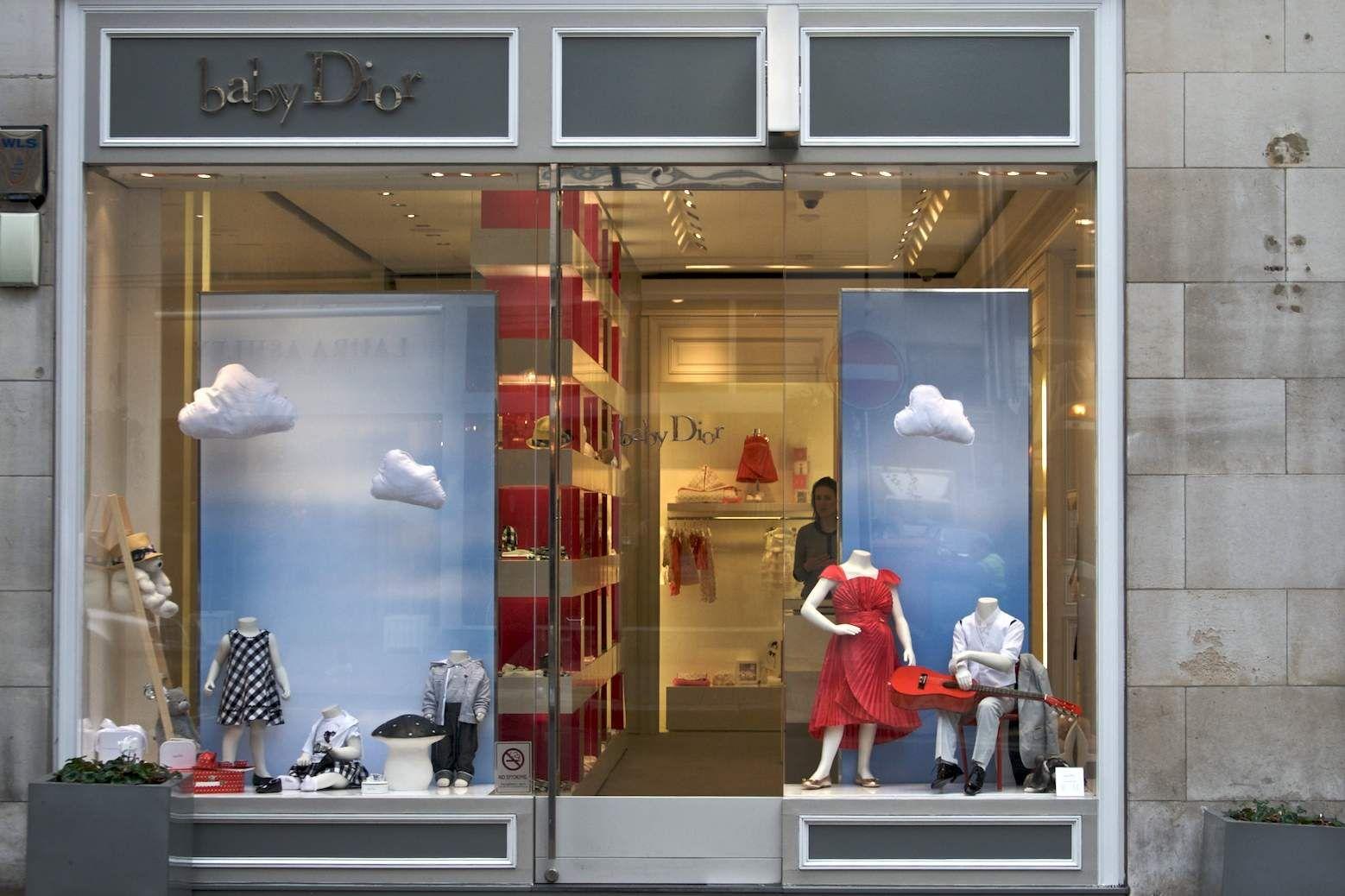 Kids Store Window Display