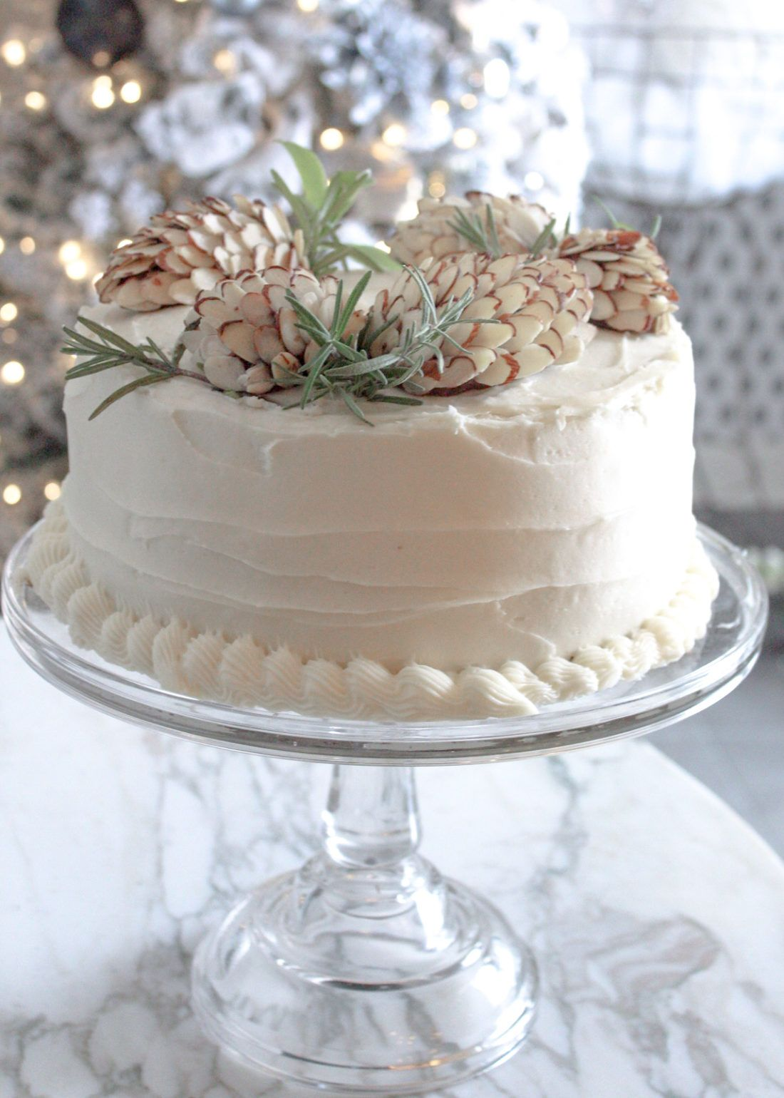A Pine Cone Cake Creation for Winter Birthdays and ...