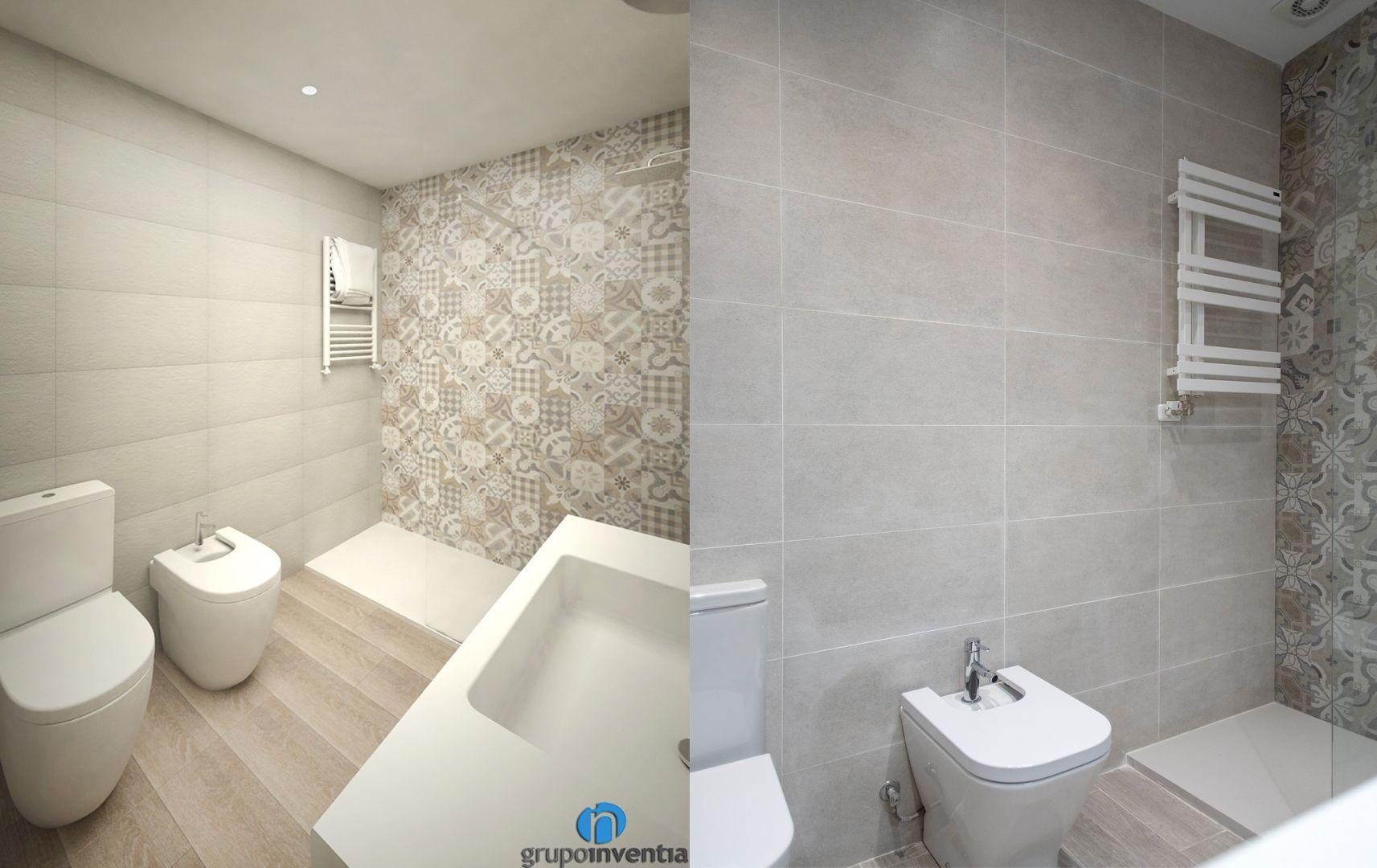 Los cuartos de baño cuentan con lavabo, inodoro y bidet y ...