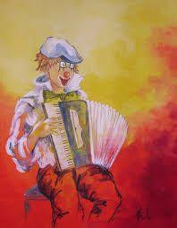 Image result for clowns musiciens peinture