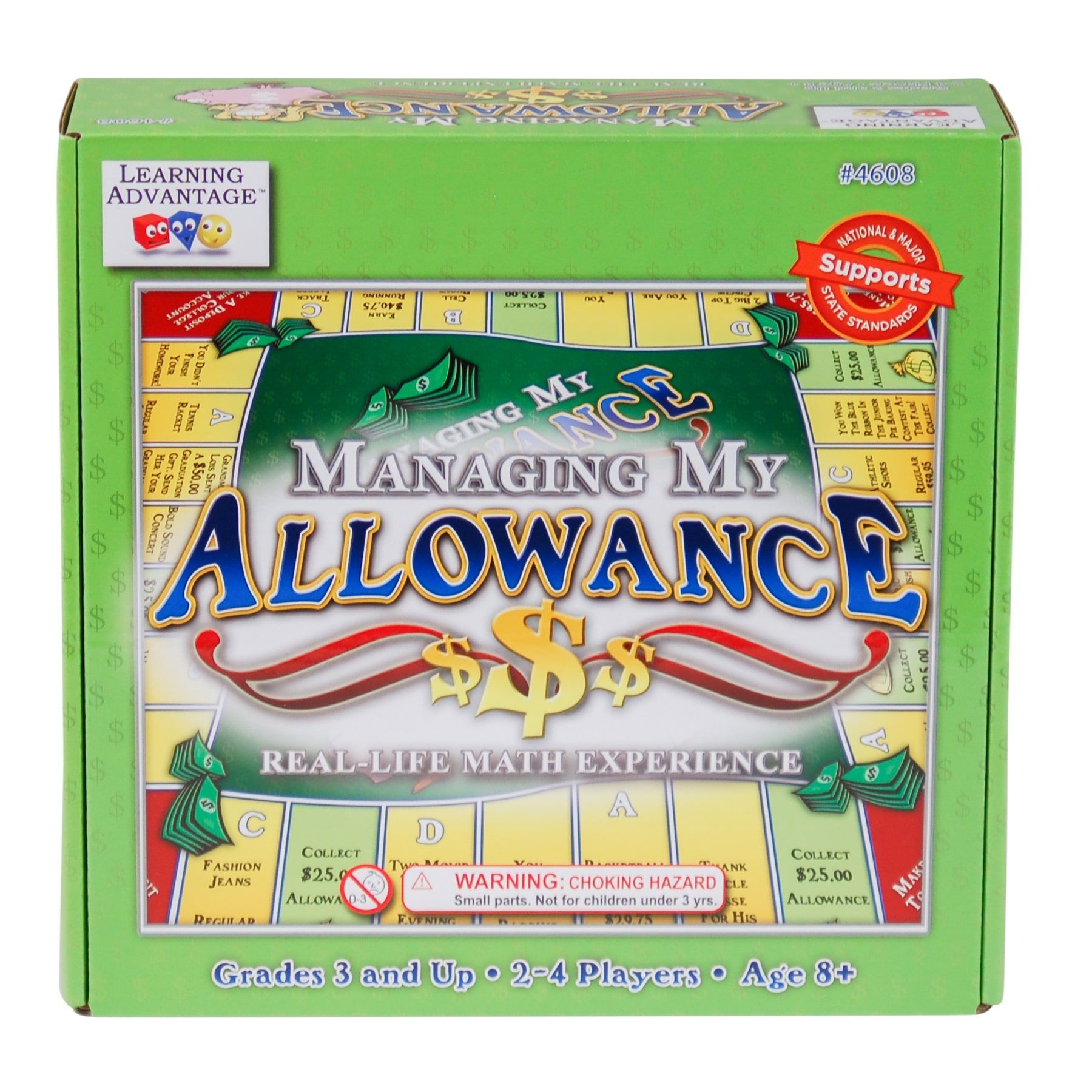 Learning Advantage Managing My Allowance Game Managing My