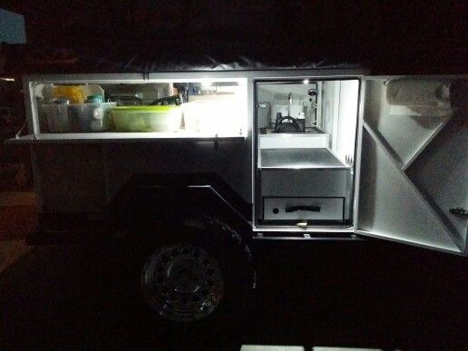 LIGHTS ON Off road trailer, Offroad