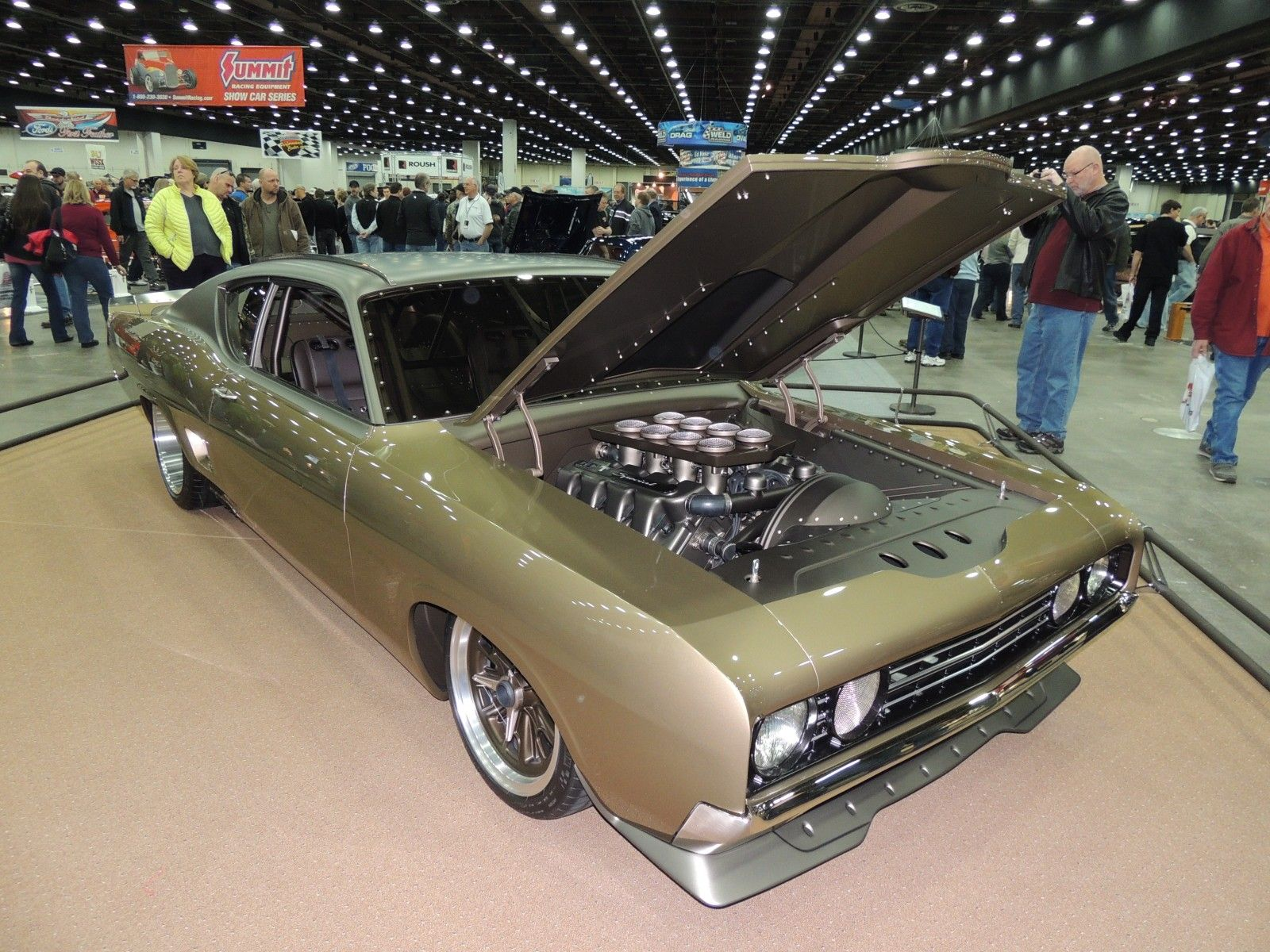 George Poteet\'s 1969 Ford Torino, built by Rad Rides by Troy, took ...