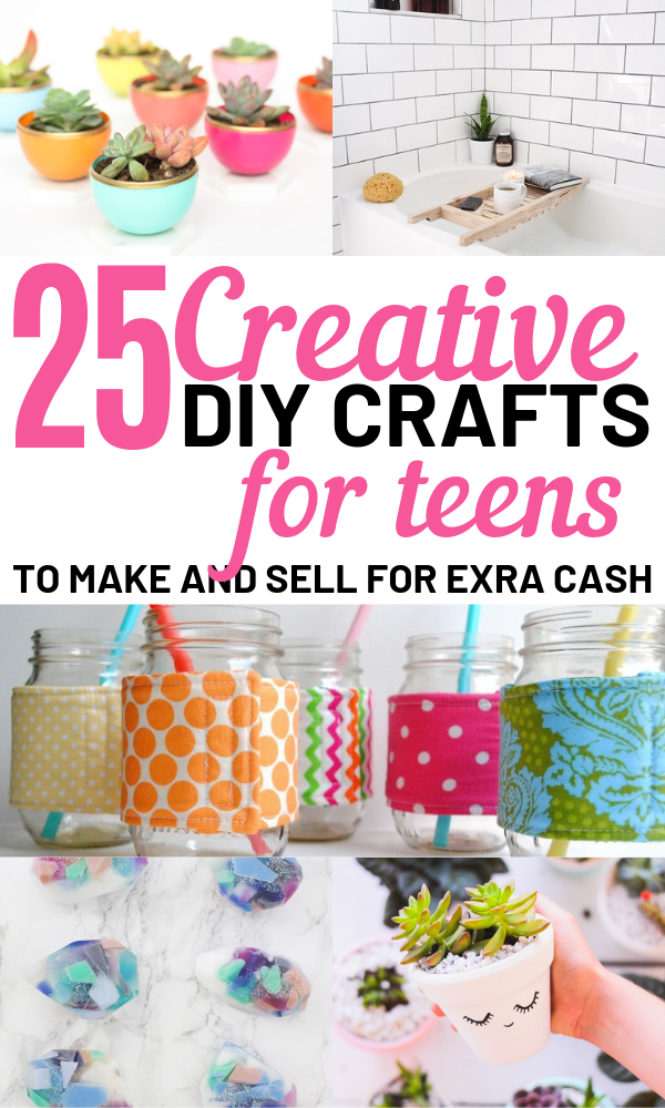 Hot Craft Ideas To Sell 30 Crafts To Make And Sell From Home Crafts For Teens To Make Diy Crafts For Teens