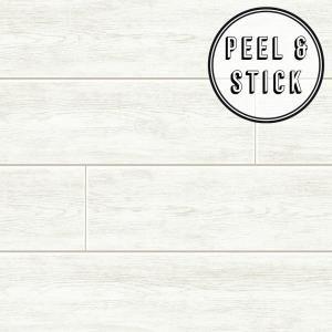 Transform Transform Wood Plank White Vinyl Peelable Roll Covers 30 75 Sq Ft 108310 The Home Depot In 2021 Shiplap Wall Diy Cheap Shiplap Wall Peel And Stick Shiplap