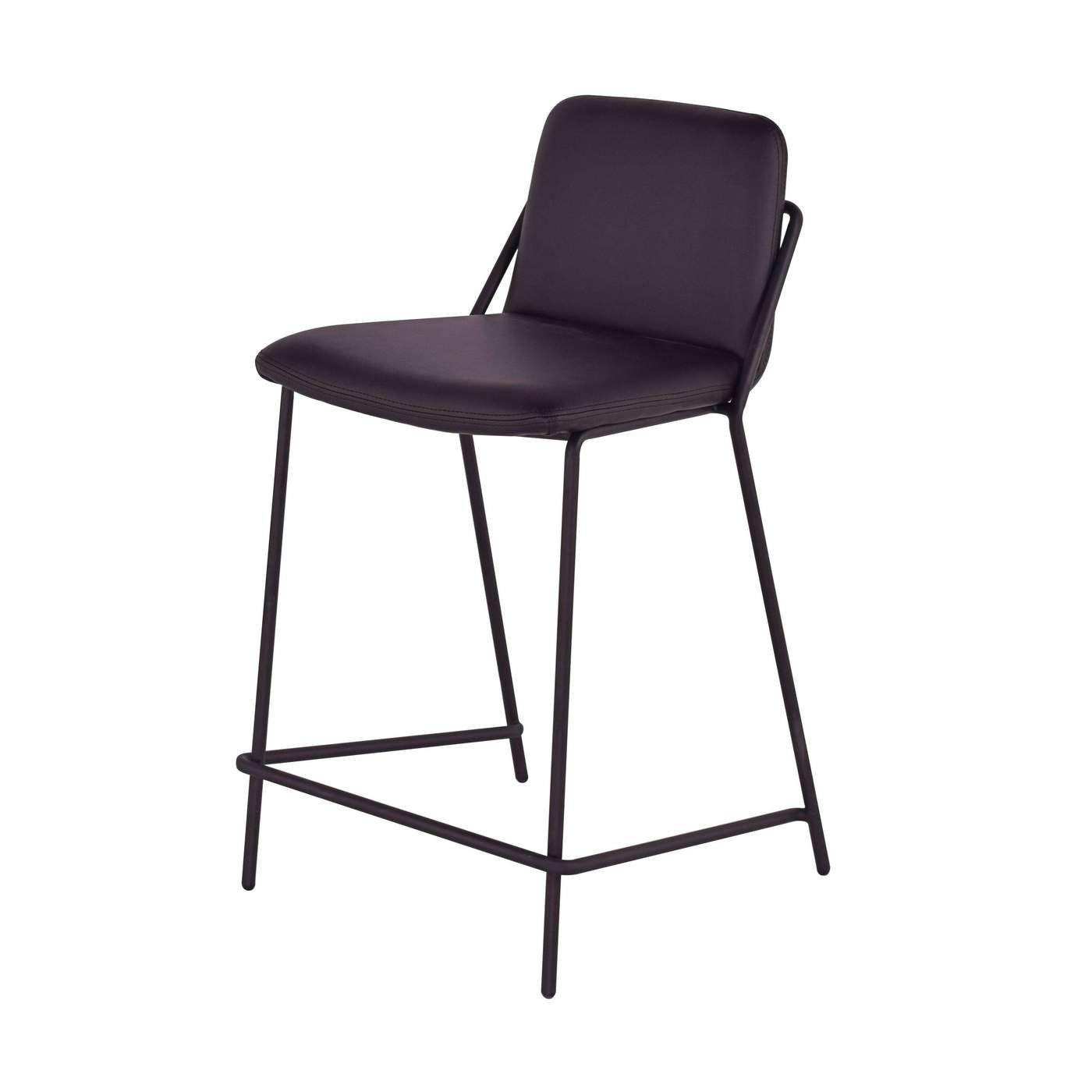 Awesome Sling Upholstered Counter Stool Scandinavian Kitchen In Inzonedesignstudio Interior Chair Design Inzonedesignstudiocom