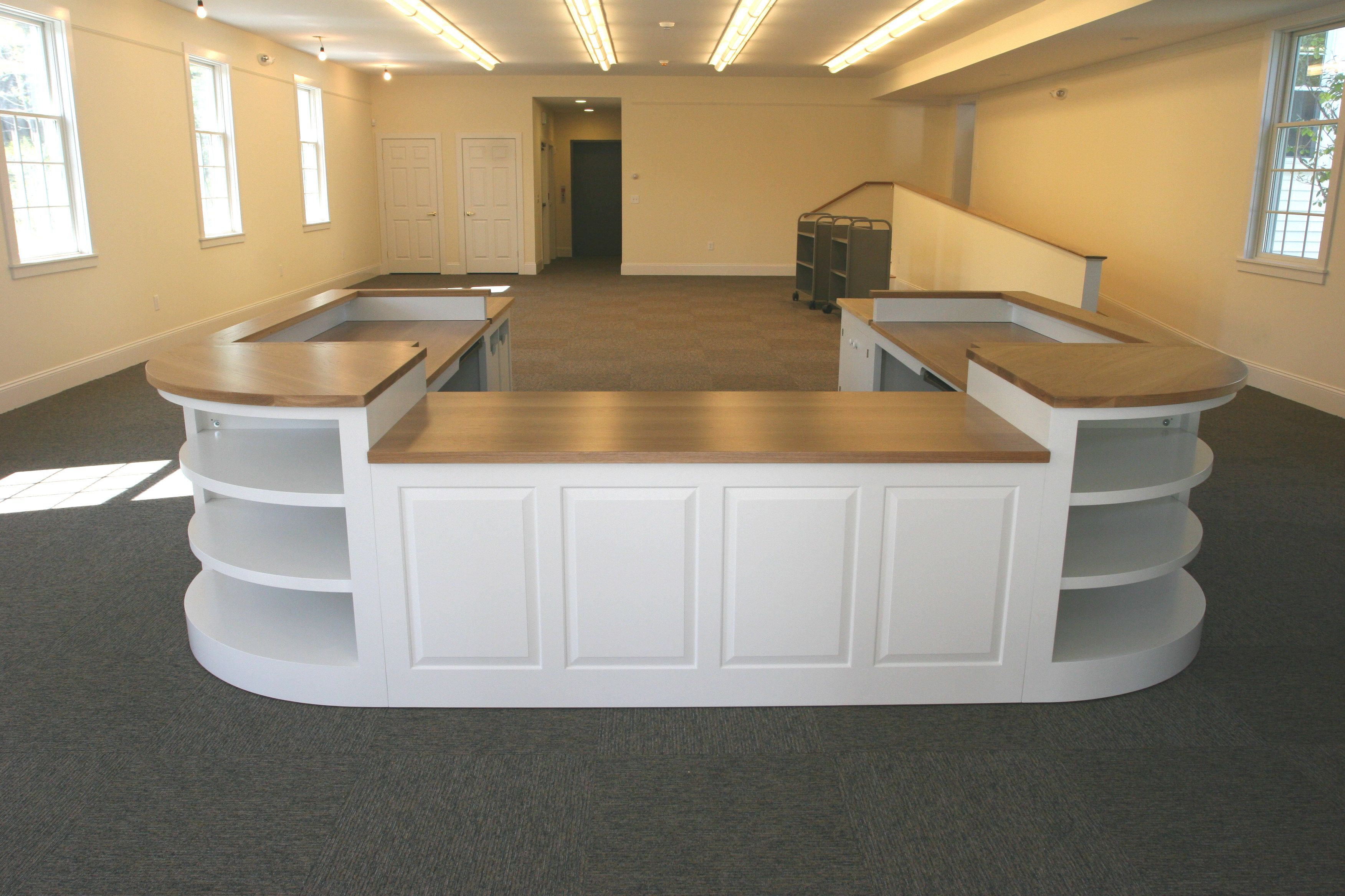 circulation desks southport library circulation desk - Library Circulation Desk Design