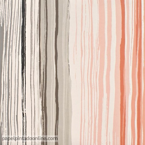 papel pintado spiritsoul 110822 papel de rayas verticales irregulares en color gris beige
