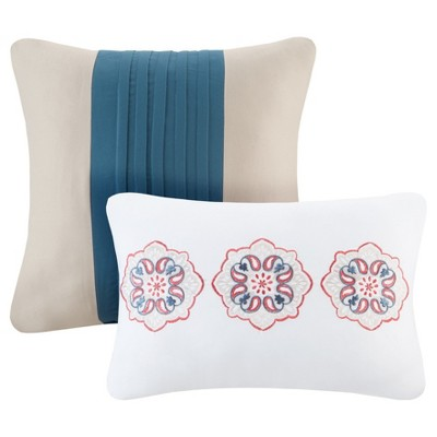 Dana Medallion Quilted Multiple Piece Coverlet Set (Twin