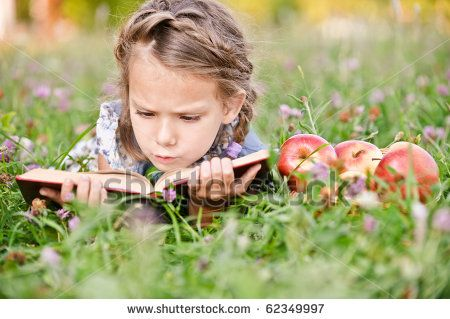 Google Image Result for http://image.shutterstock.com/display_pic_with_logo/186589/186589,1286233300,26/stock-photo-beautiful-little-girl-with-basket-of-apples-reads-book-lying-on-green-lawn-62349997.jpg