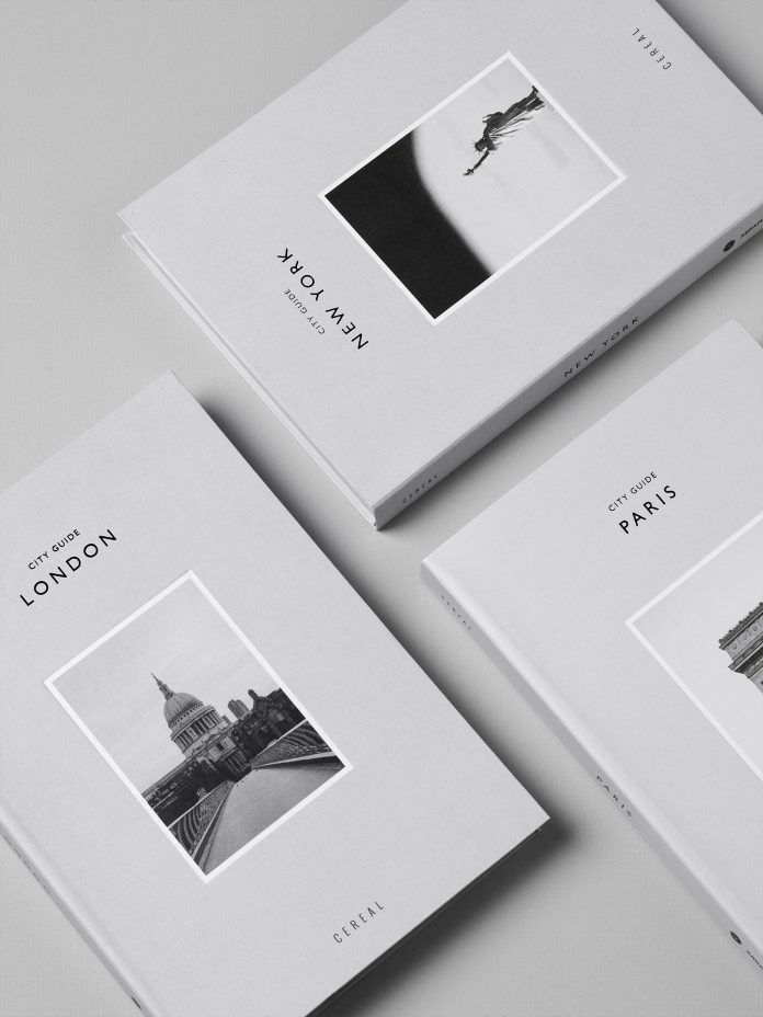 City Guides Cereal Coffee Table Books Coffee Table Book Layout Coffee Table Book Design