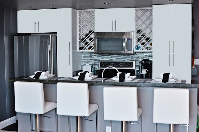 LiveLaughDecorate: Bachelor Pad - Part Two Kitchen