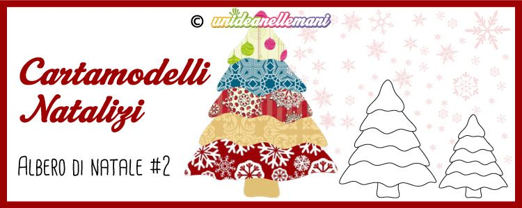 Cartamodelli Natalizi Albero Di Natale Balze 2 Www
