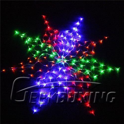 Hot Sales Colorful 120LED Net LED Flexible String Light for
