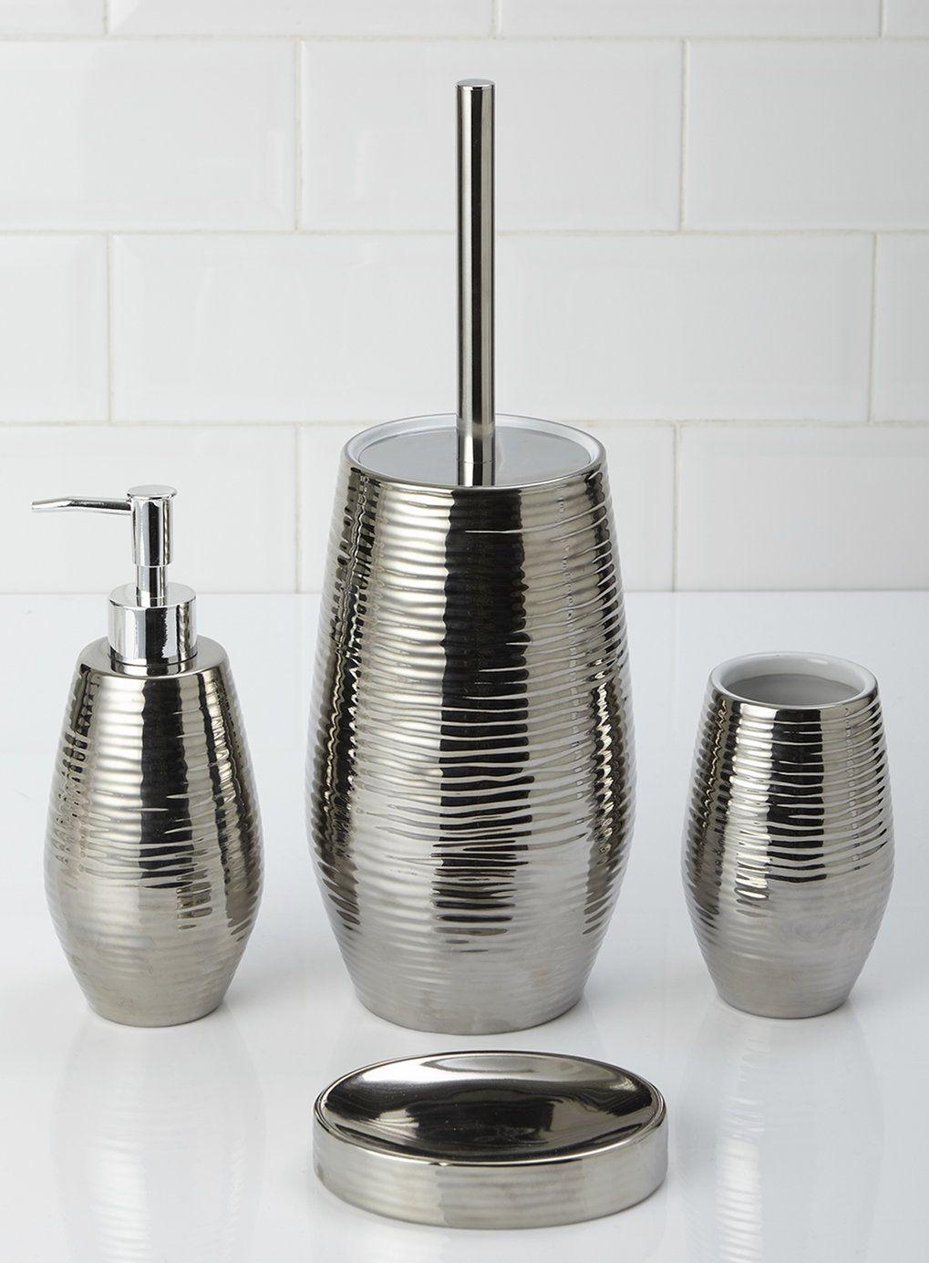 Photo 2 of Textured Metalic Soap Dispenser | Soap dispancers ...