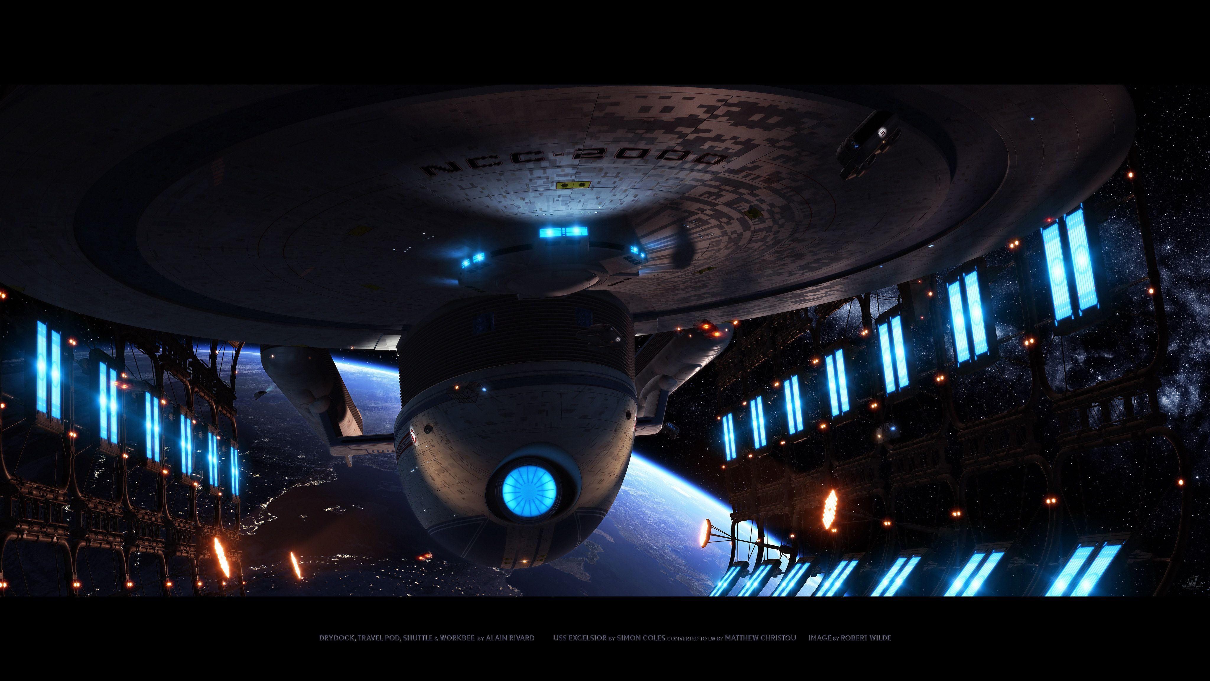 Star Trek Excelsior Foundation 3d Forums Star Trek Wallpaper Star Trek Starships Star Trek Wallpaper Backgrounds