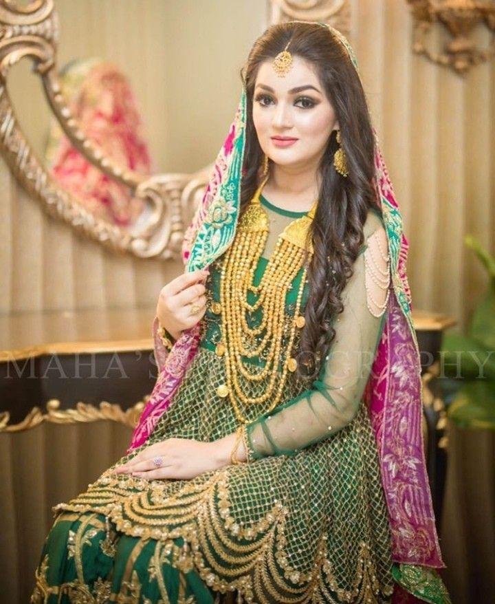 Pin by khan wala on I love jewelry | Pakistani bridal dresses, Pakistani bridal, Indian bridal dress