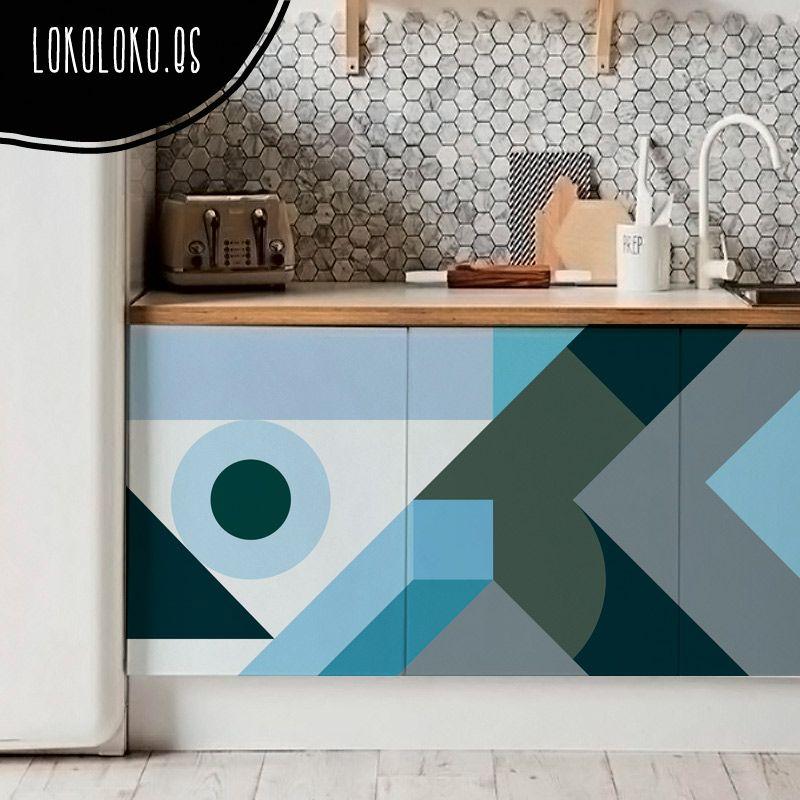 Nuevos vinilos de diseño para la decoración de cocinas. | Furniture ...