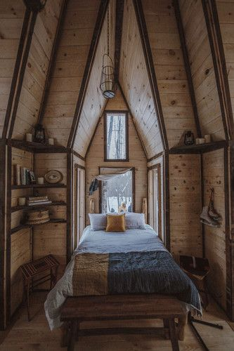 Cabin Love Instagram Account Upstate Ny Tiny Home Tour