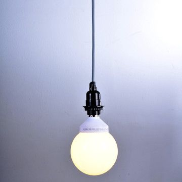 My design inspiration: Hanging Lamp Cord Kit Gray on Fab.