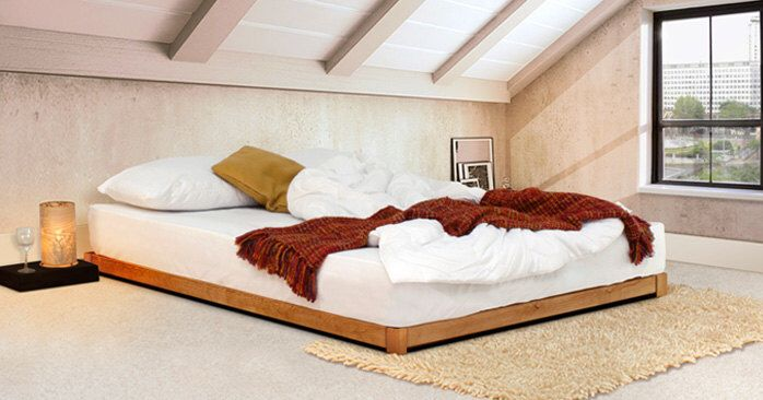Loft Wooden Bed Frame By Get Laid Beds