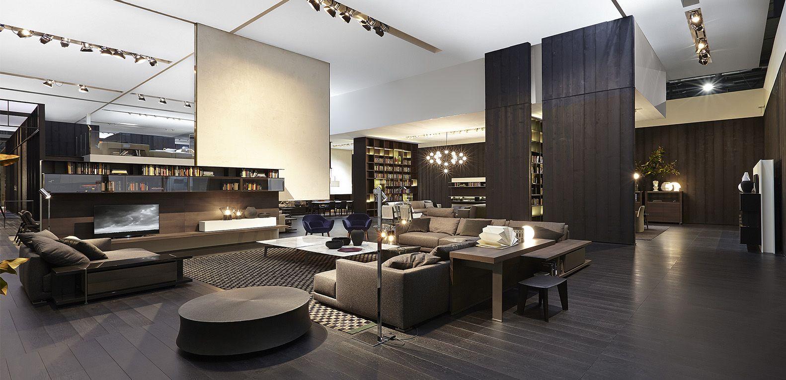 Poliform6 casas pinterest interiors living rooms - Poliform showroom ...